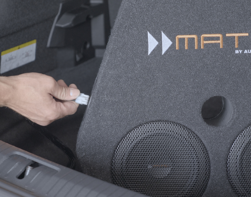 3. Connection MATCH subwoofer