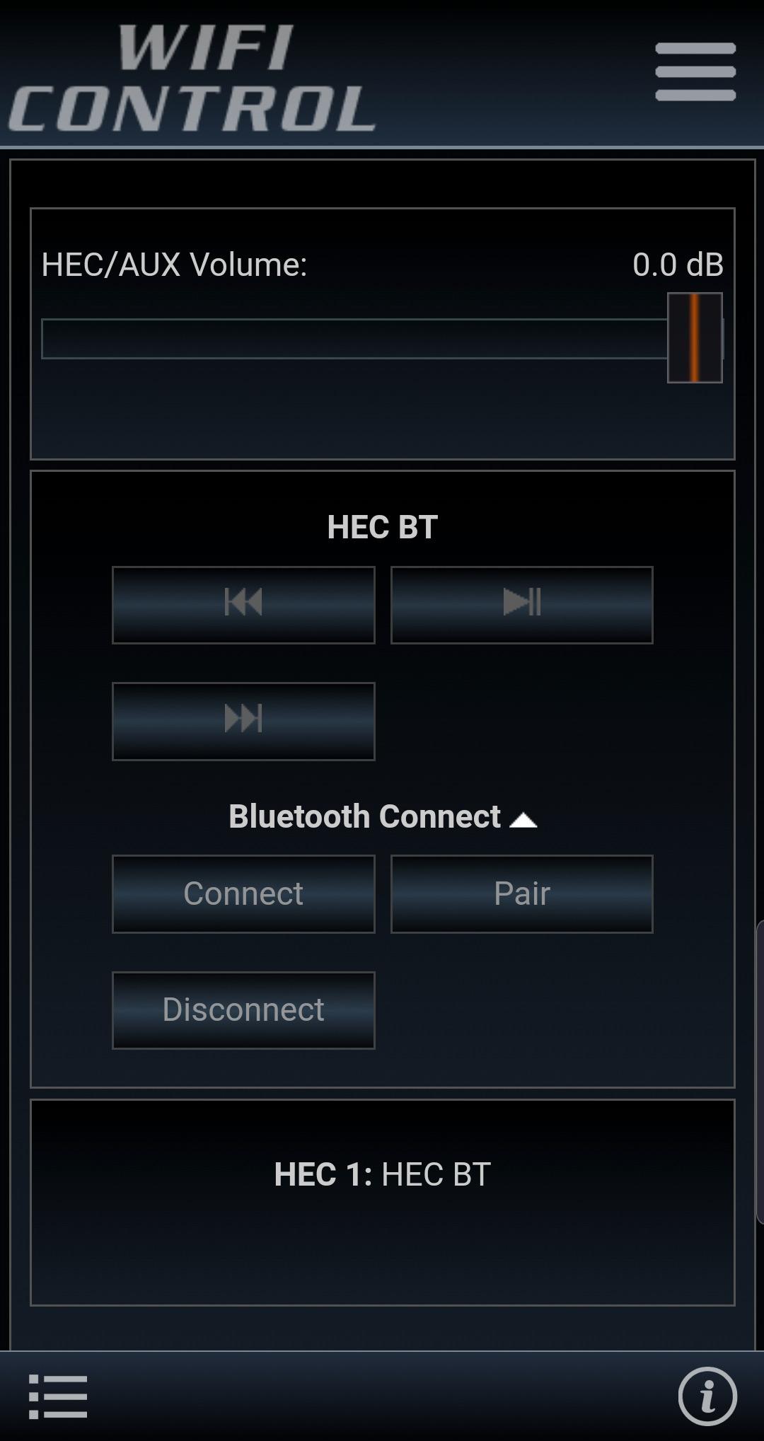 WIFI-CONTROL-Volume-Control