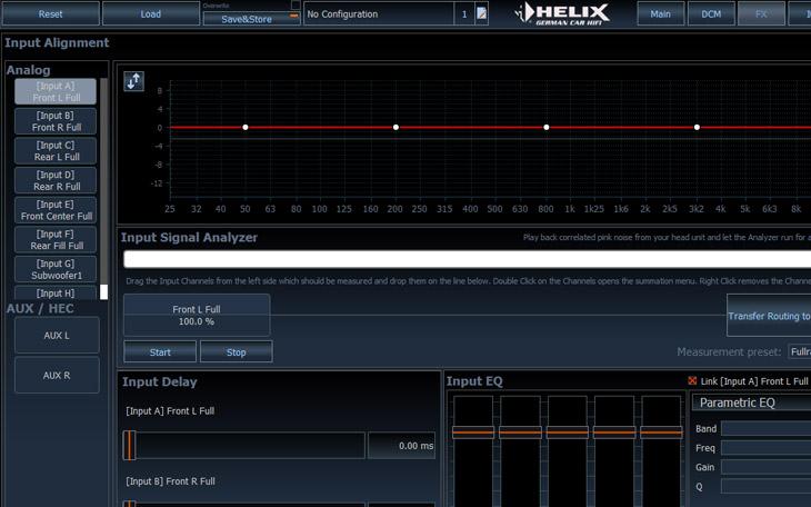 Input Signal Analyzer (ISA) & Input EQ