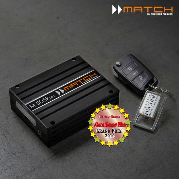 Ausgezeichnet – Auto Sound Award für Miniatur-Verstärker M 5DSP MK2