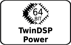 TwinDSP Power Feature