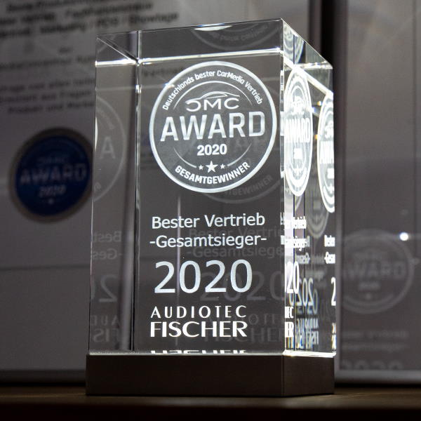Audiotec Fischer is again Germany's best car media manufacturer and distributor!