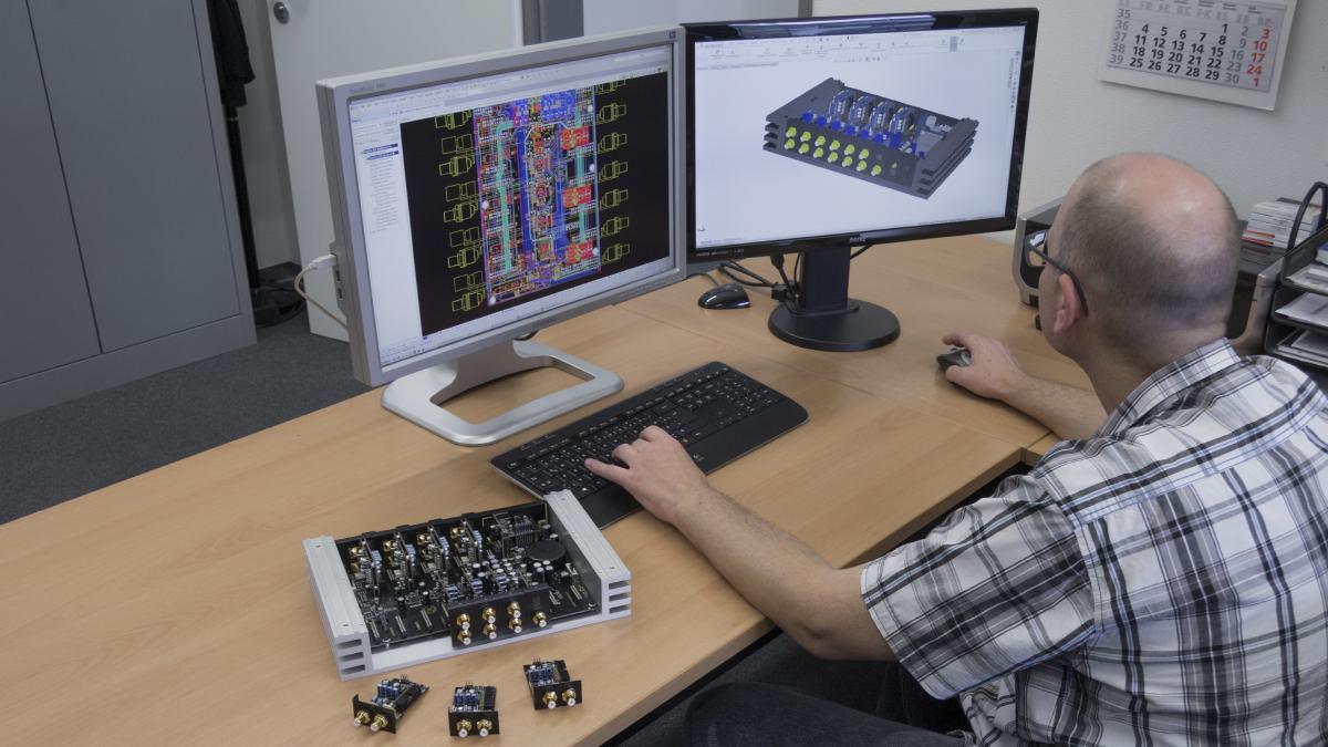 Produktentwicklung Audiotec Fischer
