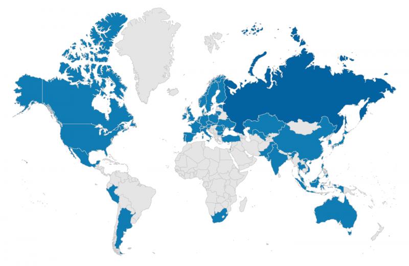 Distributoren weltweit