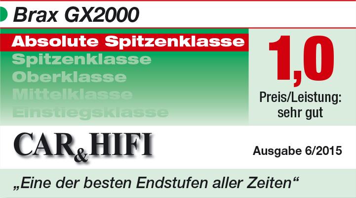 BRAX GX2000 - CAR_HIFI 2015
