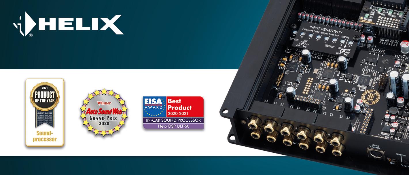Digitaler High-Res 12-Kanal Signalprozessor