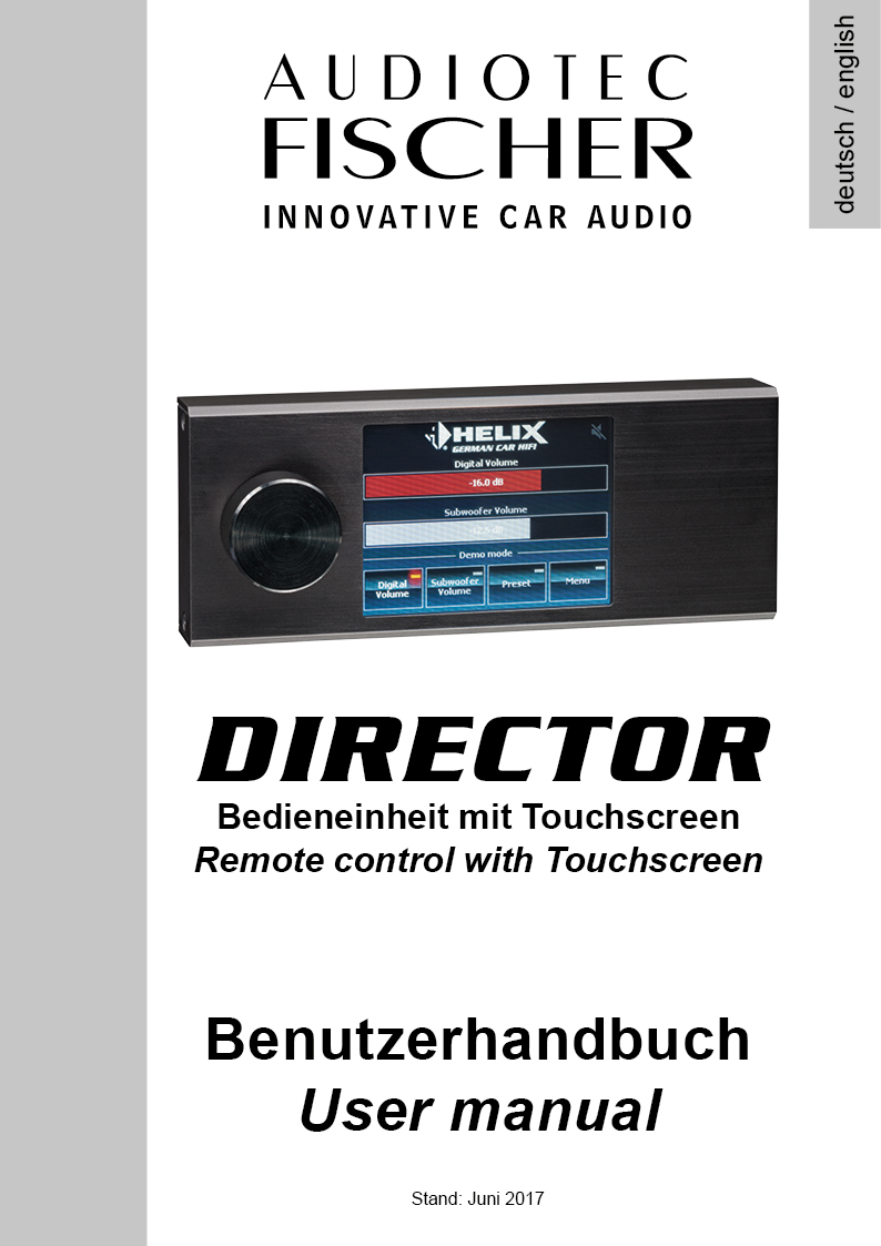The DIRECTORs instruction manual