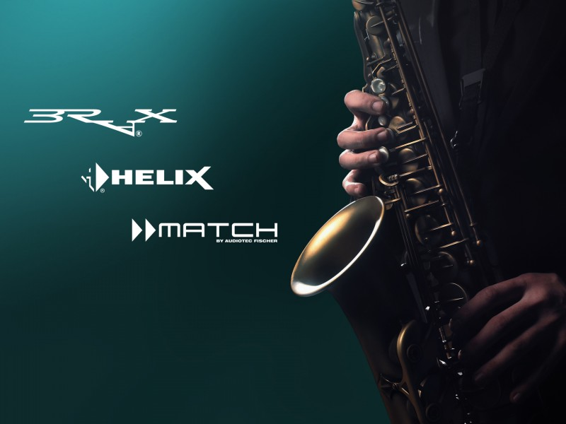HELIX by Audiotec Fischer - Topbanner